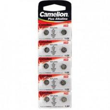 Батарейка Camelion G02 (396A/LR726/196) BL-10