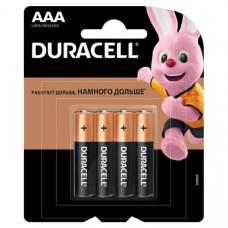 Батарейка Duracell LR03 Alkaline BL-4(48/192)