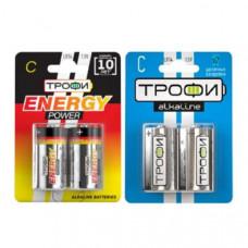 Батарейка ТРОФИ LR14 2BL (12/96)