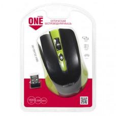 Мышь беспроводная Smart Buy ONE 352 зеленая/черная, (1/60)