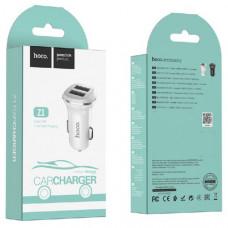 АЗУ-2 USB HOCO Z1, 2.4A White