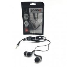 Гарнитура вакуумная JOOVE A-2 черная, блистер (на русском языке)