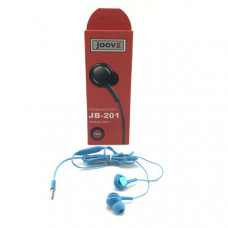 Гарнитура вакуумная JOOVE JB-201 синяя, коробка