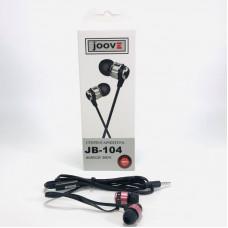 Гарнитура вакуумная JOOVE JB-104 красная, коробка