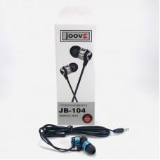 Гарнитура вакуумная JOOVE JB-104 синяя, коробка