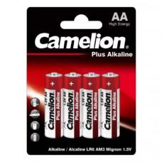 Батарейка Camelion LR06 Plus Alkaline BL-4 (48/576)