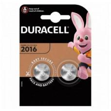 Батарейка DURACELL CR 2016  BL2 (0/200)