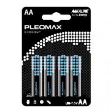 Батарейка Samsung Pleomax LR6 BL-4 Economy (40/400/25600)