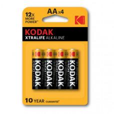 Батарейка Kodak LR06 XTRALIFE BL-4