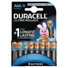 Батарейка Duracell LR03 Alkaline Ultra Power BL-8 (80/40320)