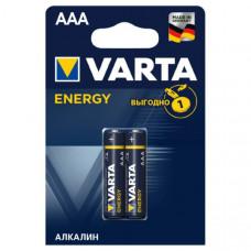 Батарейка VARTA LR03 BL-2 Energy