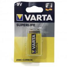 Батарейка VARTA 6F22 SuperLife 9V BL-1
