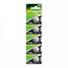 Батарейка GP Lithium CR 2025 BL5