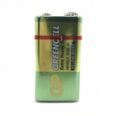 Батарейка GP 6F22 GREENCELL SH1