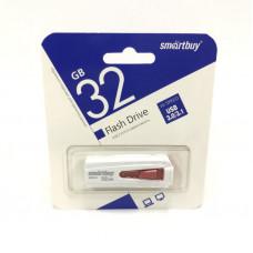 USB 3.0 флэш-диск 32Gb Smart Buy Iron белый/красный