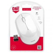 Мышь беспроводная Smart Buy 333AG-W, белая