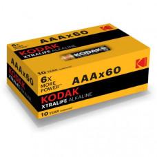 Батарейка Kodak LR03 XTRALIFE ALKALINE box-60 (кратно 60 шт)
