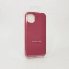 Чехол iPhone 11 Silicone Case (Rose Red 44)