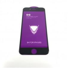 Стекло защитное O.G Full Glass iPhone 6/6S 9H Black