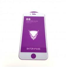 Стекло защитное O.G Full Glass iPhone 6/6S 9H White