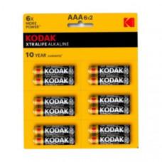Батарейка Kodak LR03 XTRALIFE ALKALINE BL-12