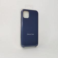 Чехол iPhone 11 Silicone Case (Midnight Blue 5)