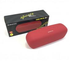 Портативная колонка Borofone BR11 Red (Динамик: 52 мм  2 4 Ом 3 Вт  2 + низкочастотная диафрагма, размеры: 200  60  70мм. Вес: 426 г, BT: BT V5.0 Zhongke Lanxun 5305A, поддержка воспроизведения музыки, звонков, TF-карты, USB, режима воспроизведения AUX, н