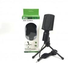 Микрофон проводной RITMIX RDM-125, черный, настольный, шнур 1.8м,  штатив-подставка. Направленность всенаправленный, Тип микрофона конденсаторный, Диапазон частот микрофона 5016000 Гц, Сопротивление микрофона ?2,2 кОм, Чувствительность микрофона -30  3 дБ