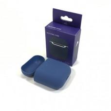 Чехол силиконовый для AirPods 2 Silicone Case Delft Blue, Soft-Touch (противоударный, мягкий)