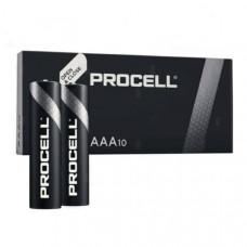 Батарейка Duracell LR03 Alkaline Procell (Industrial) box-10, 1.5V