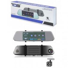 Видеорегистратор зеркало + камера заднего вида TDS TS-CAR41 Дисплей 7 IPS сенсорный / 854480 / 2.5D стекло Процессор Джерри 5601, передний объектив GC2363 Количество камер 2 Разрешение основной камеры 1080Р (19201080) /720P (12801080) / 480P (640480)