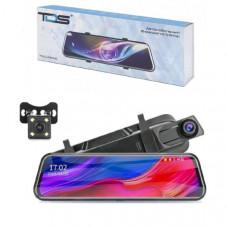 Видеорегистратор зеркало + камера заднего вида TDS TS-CAR42 Дисплей 9.66 IPS сенсорный / 2.5D стекло Процессор Джерри 5601, передний объектив GC2363 Количество камер 2 Разрешение основной камеры 1080Р (1920х1080) /720P (1280х1080) / 480P (640х480) Разреше