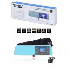 Видеорегистратор зеркало + камера заднего вида TDS TS-CAR40 Дисплей 5 IPS сенсорный Количество камер 3 Разрешение основной камеры 1080Р (1920х1080) /720P (1280х1080) / 480P (640х480)        Разрешение дополнительной камеры 1 1080Р (1920х1080) /720P (1280х
