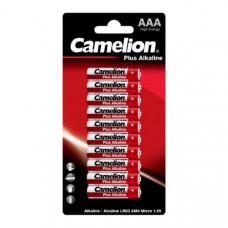 Батарейка Camelion LR03 Plus Alkaline BL-10 1.5V (10/120/720)