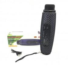 Микрофон+Колонка ZQS-K11 Black (Bluetooth,microSD,USB)