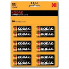 Батарейка Kodak LR06 XTRALIFE BL-12 perforated (144/576)