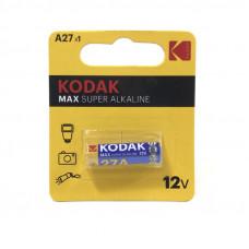 Батарейка KODAK 27A MAX SUPER ALKALINE 1BL
