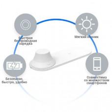 Беспроводное зарядное устройство+ночник Xiaomi Yeelight Wireless Charging Night Light МодельYLYD04YI. Размеры 225х80х43.5мм Цветовая температура 2700K/5000K.Источник питания От сети.Тип разъема для зарядки Micro USB.Время работы ночника до 11ч, время заря