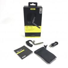 Гарнитура HandsFree Bluetooth RM RB-T5 Bluetooth 4.1 Поддерживает HSP / HFP / A2DP,Порт зарядки Micro USB.Время разговора: 5-8 часов .Время воспроизведения музыки: 3-5 часов.Время ожидания: 200 часов.Время зарядки: 2 часа.Диапазон беспроводной связи: 10 м