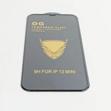 Стекло защитное O.G Anti-Shock Armor iPhone 12 Mini 9H (10/1, техпак)