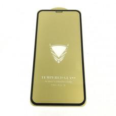 Стекло защитное O.G Gold iPhone 12 Mini Black (10/1,  техпак)