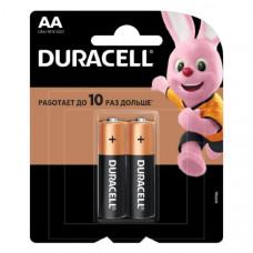 Батарейка Duracell LR6 BL-2 BASIC CN (Новый дизайн) (2/24/96/10752)