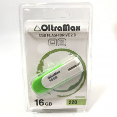 USB флеш-диск 16Gb OltraMax 220 зелёный