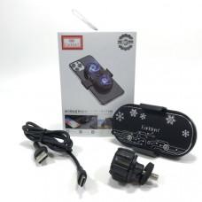 Охлаждающее устройство для телефона Earldom ET-F05 Black Размер: 100 мм х 55 мм х 28 мм  Материал продукта: АБС-алюминиевый сплав-керамика  2 разъема: Type-C, USB Кабель Type-C