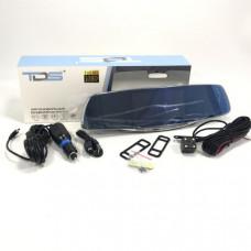 Видеорегистратор зеркало + камера заднего вида TDS TS-CAR11 Дисплей 5 TFT  Процессор Количество камер 2 Разрешение основной камеры 1080P (19201080) 720P (1280720)        Разрешение дополнительной камеры 1 640х480  Разрешение дополнительной камеры 2