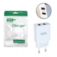 СЗУ-2USB MRM S75 5V/2.4A (White) без упаковки