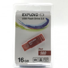 USB флеш-диск 16Gb Exployd 560 красный