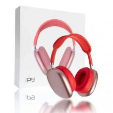 Гарнитура беспроводная полноразмерная Bluetooth P9 Red Разъем: microUSB, AUX. Корпус: материал пластик.
