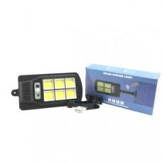 Светильник уличный светодиодный настенный BK-120-6COB солнечная батарея, датчик движения, 3 режима, 240х120 мм