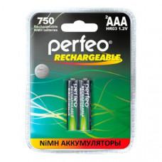 Аккумулятор Perfeo R03 (750mAh) BL-2